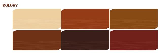 olej tarasowy kolory